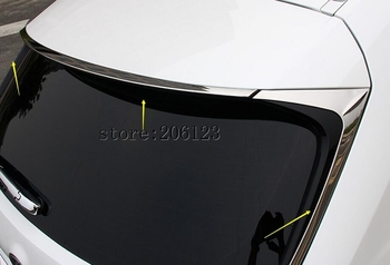 Rear Tail wing/Window Triangle Decorative Trim For Lexus NX300h NX200t 2016