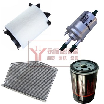 Set filters for vw MAGOTAN 1.4T / Octavia 1.8T / 2.0T T 1KD129620D 1K0819644 034115561A 6Q0201051B